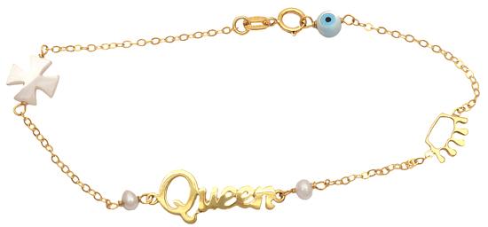 Βραχιόλι χρυσό 14Κ για κορίτσι 012474 Χρυσός 14 Καράτια