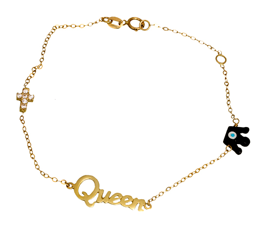 Παιδικό βραχιόλι 14Κ 012477 Χρυσός 14 Καράτια χρυσά κοσμήματα