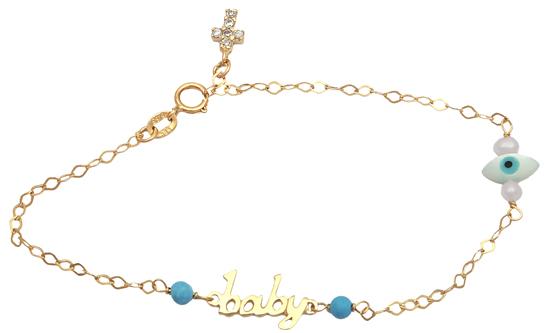 Βραχιόλι παιδικό χρυσό 14Κ 012478 Χρυσός 14 Καράτια