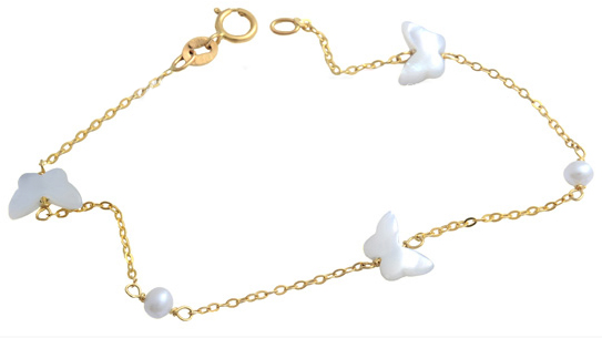 Βραχιόλι χρυσό 9Κ 012504 Χρυσός 9 Καράτια