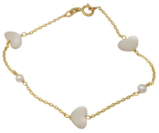 Χρυσό βραχιόλι 9Κ 012505 Χρυσός 9 Καράτια