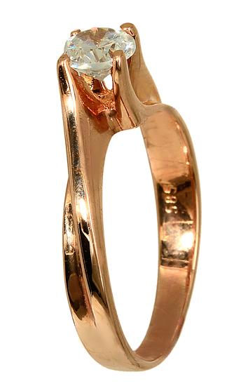 Δαχτυλίδια online 012802 Χρυσός 14 Καράτια χρυσά κοσμήματα δαχτυλίδια μονόπετρα