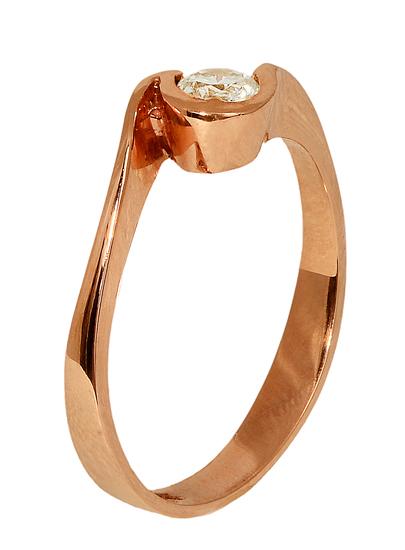 ΜΟΝΟΠΕΤΡΑ ΜΕ ΖΙΡΓΚΟΝ 012808 012808 Χρυσός 14 Καράτια χρυσά κοσμήματα δαχτυλίδια μονόπετρα