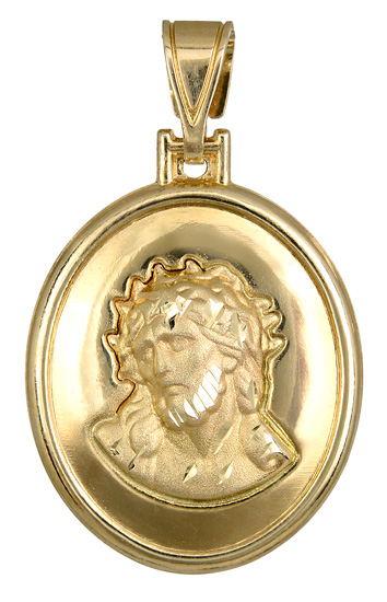 Χρυσό φυλαχτό του Χριστού K14 012873 012873 Χρυσός 14 Καράτια