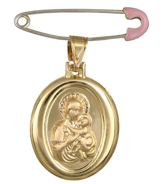 Χρυσό φυλαχτό Κ14 C012880 012880C Χρυσός 14 Καράτια