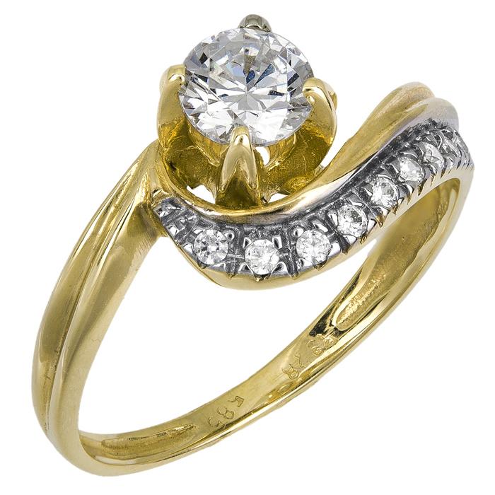 ΜΟΝΟΠΕΤΡΟ ΧΡΥΣΟ 14Κ ΜΕ ΖΙΡΓΚΟΝ 013259 013259 Χρυσός 14 Καράτια χρυσά κοσμήματα δαχτυλίδια μονόπετρα