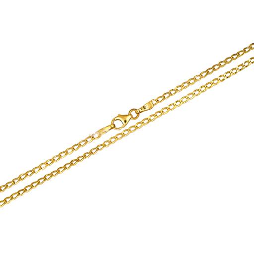 Χρυσή Κούφια Αλυσίδα Κ14 013302 Χρυσός 14 Καράτια