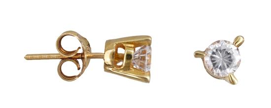 Χρυσά σκουλαρίκια Κ14 0103402 013402 Χρυσός 14 Καράτια