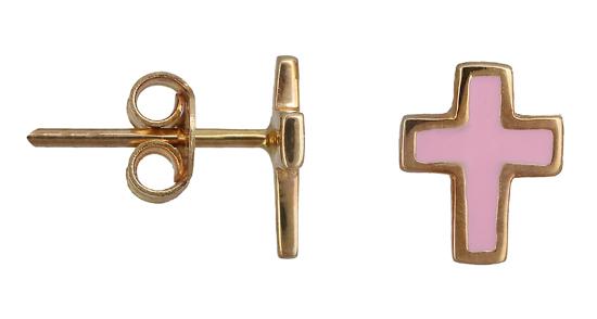 Παιδικά σκουλαρίκια 013419 013419 Χρυσός 14 Καράτια