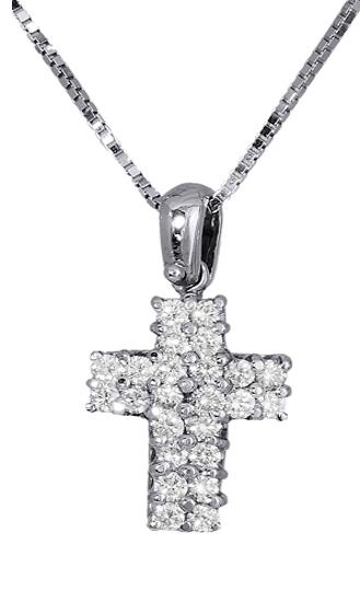 Βαπτιστικοί Σταυροί με Αλυσίδα Γυναικείος σταυρός με αλυσίδα 18Κ C013429 013429c Γυναικείο Χρυσός 18 Καράτια