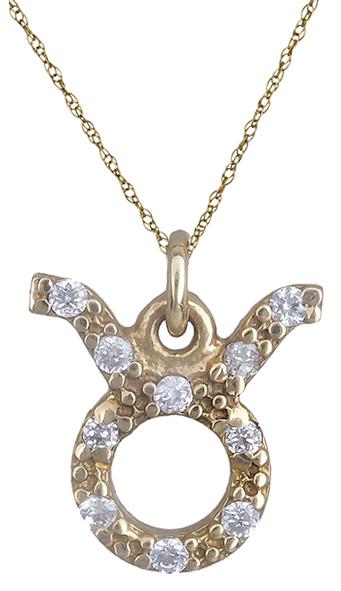 Κολιέ χρυσό 14Κ - ταύρος 013448 013448 Χρυσός 14 Καράτια