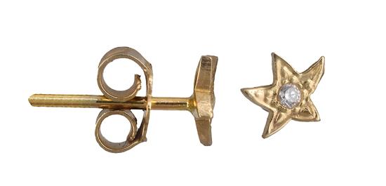 Χρυσά Σκουλαρίκια Κ14 001349 001349 Χρυσός 14 Καράτια χρυσά κοσμήματα σκουλαρίκια καρφωτά