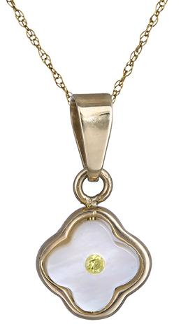 Γυναικείο κολιέ με σταυρουδάκι φίλντισι Κ14 013563 013563 Χρυσός 14 Καράτια