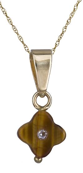 Κολιέ χρυσό με σταυρουδάκι φίλντισι Κ14 013565 013565 Χρυσός 14 Καράτια