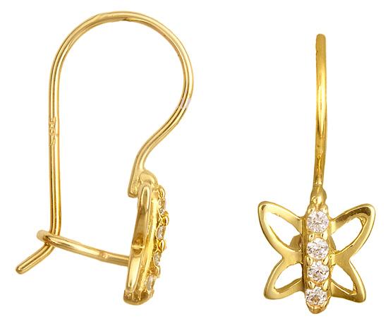ΧΡΥΣΑ ΣΚΟΥΛΑΡΙΚΙΑ ΣΧΕΔΙΑ 013606 013606 Χρυσός 14 Καράτια χρυσά κοσμήματα σκουλαρίκια καρφωτά