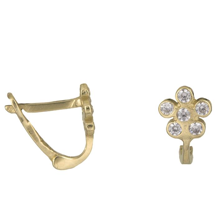 Χρυσά σκουλαρίκια Κ14 013616 013616 Χρυσός 14 Καράτια