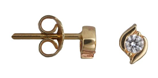Χρυσά σκουλαρίκια Κ14 013682 013682 Χρυσός 14 Καράτια