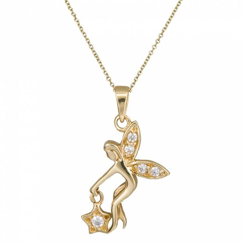 Κολιέ χρυσό 14 καράτια C002188 002188C Χρυσός 14 Καράτια