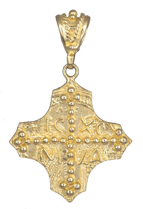 Κωνσταντινάτο φυλαχτό Κ14 χρυσό 013854 013854 Χρυσός 14 Καράτια