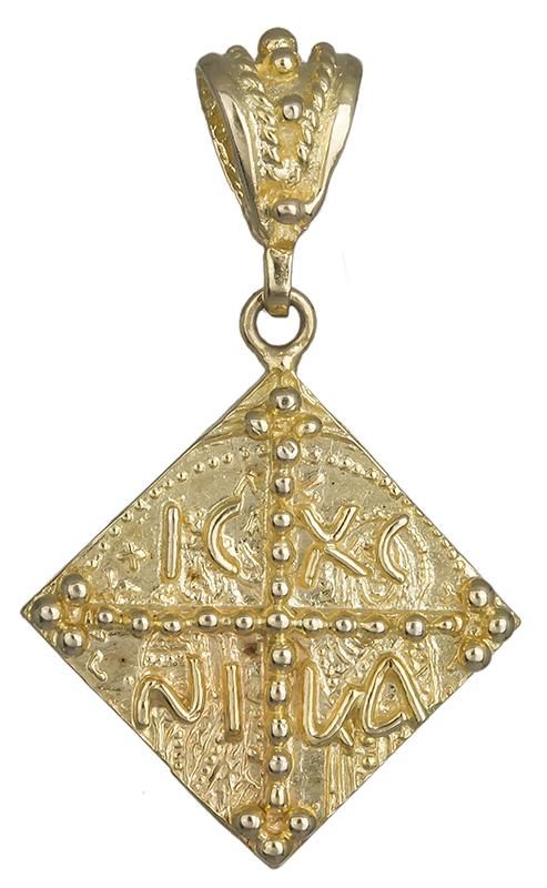 Φυλαχτό κωνσταντινάτο χρυσό 14Κ 013860 013860 Χρυσός 14 Καράτια
