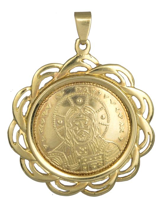 Φυλαχτό κωνσταντινάτο 14Κ χρυσό 013863 013863 Χρυσός 14 Καράτια