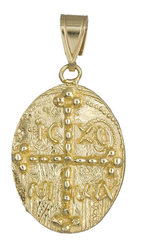 Κωνσταντινάτο διπλής όψης 14Κ 013867 013867 Χρυσός 14 Καράτια
