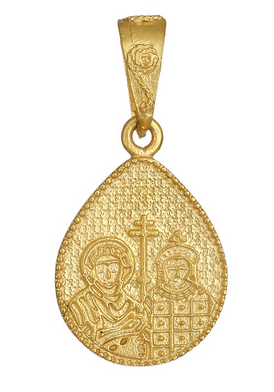 Χρυσό Κωνσταντινάτο δάκρυ Κ14 013875 013875 Χρυσός 14 Καράτια