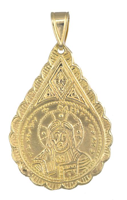Χρυσό κωνσταντινάτο 14Κ για μωρά 013884 013884 Χρυσός 14 Καράτια