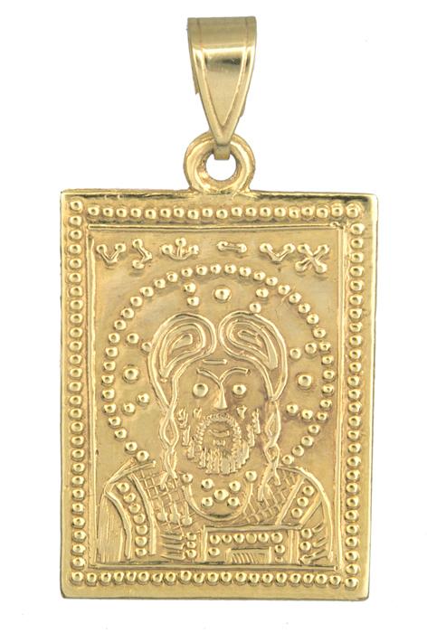 Φυλαχτό κωνσταντινάτο χρυσό Κ14 παιδικό 013887 013887 Χρυσός 14 Καράτια