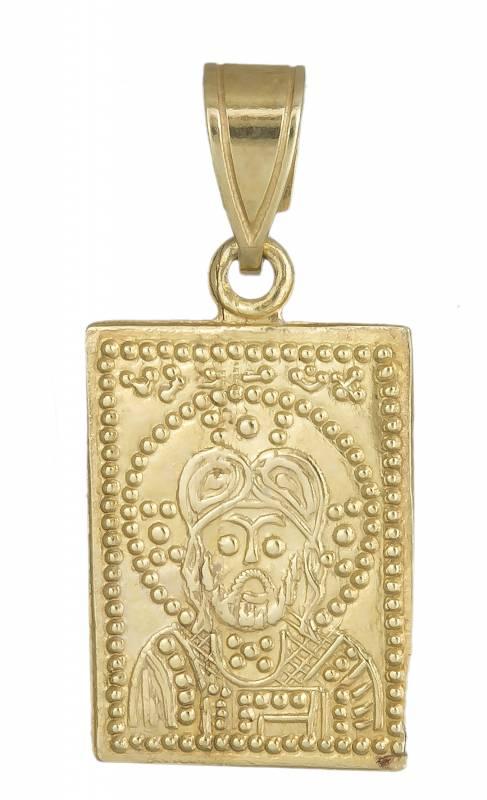 Κωνσταντινάτο χρυσό διπλής όψης 14Κ 013906 013906 Χρυσός 14 Καράτια