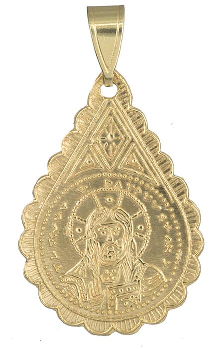Κωνσταντινάτο χρυσό 14Κ δάκρυ 013908 013908 Χρυσός 14 Καράτια