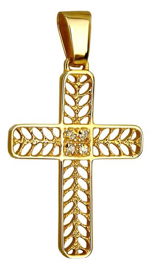 Σταυροί Βάπτισης - Αρραβώνα ΧΡΥΣΟΣ ΣΤΑΥΡΟΣ 14Κ 014246 Γυναικείο Χρυσός 14 Καράτια