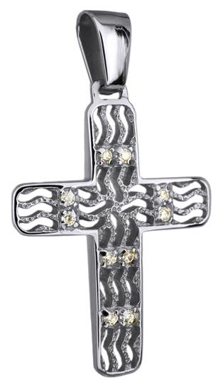 Σταυροί Βάπτισης - Αρραβώνα ΣΤΑΥΡΟΣ ΛΕΥΚΟΧΡΥΣΟΣ 14Κ 014249 014249 Γυναικείο Χρυσός 14 Καράτια