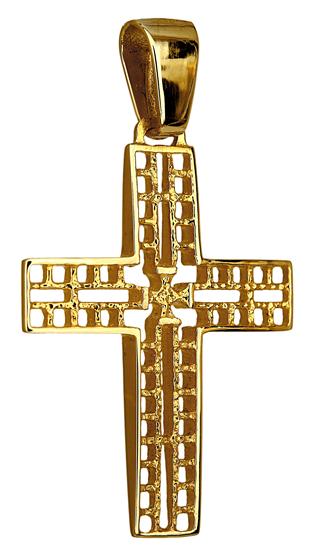 Σταυροί Βάπτισης - Αρραβώνα ΧΡΥΣΟΣ ΣΤΑΥΡΟΣ 14Κ 014251 Ανδρικό Χρυσός 14 Καράτια