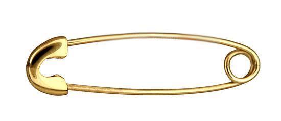 Χρυσή Παραμάνα 9Κ για Νεογέννητο 014315 Χρυσός 9 Καράτια