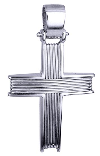 Σταυροί Βάπτισης - Αρραβώνα ΛΕΥΚΟΧΡΥΣΟΣ ΣΤΑΥΡΟΣ 14K ΓΙΑ ΒΑΠΤΙΣΗ Ή ΑΡΡΑΒΩΝΑ 014364 014364 Ανδρικό Χρυσός 14 Καράτια