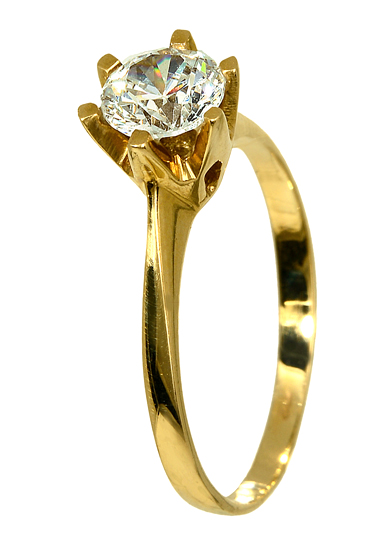 ΧΡΥΣΑ ΔΑΧΤΥΛΙΔΙΑ 014385 Χρυσός 14 Καράτια χρυσά κοσμήματα δαχτυλίδια μονόπετρα