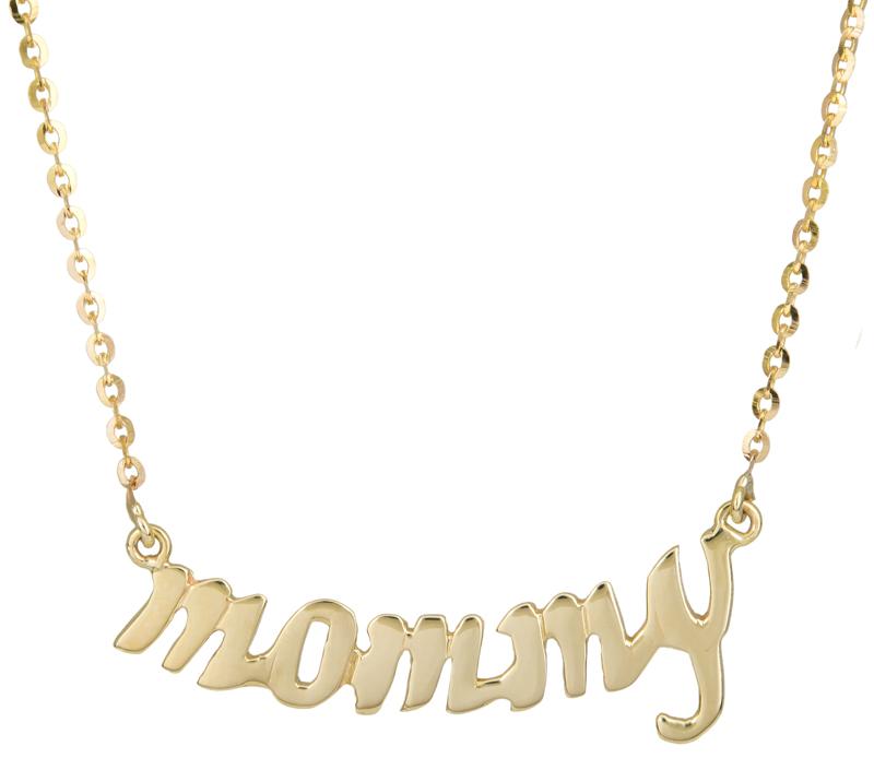 Χρυσό κολιέ mommy Κ9 017781 017781 Χρυσός 9 Καράτια