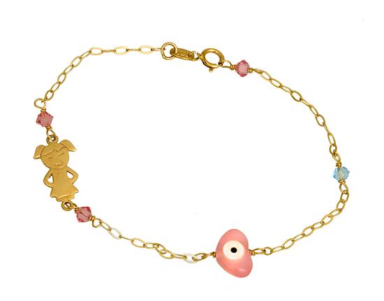 Παιδικά Κοσμήματα Χρυσά 014785 014785 Χρυσός 9 Καράτια