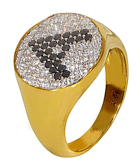 ΓΥΝΑΙΚΕΙΟ ΔΑΧΤΥΛΙΔΙ CHEVALIER ΜΕ ΠΕΤΡΕΣ 14Κ 014830 Χρυσός 14 Καράτια χρυσά κοσμήματα δαχτυλίδια με μαργαριτάρια και διάφορες πέτρες