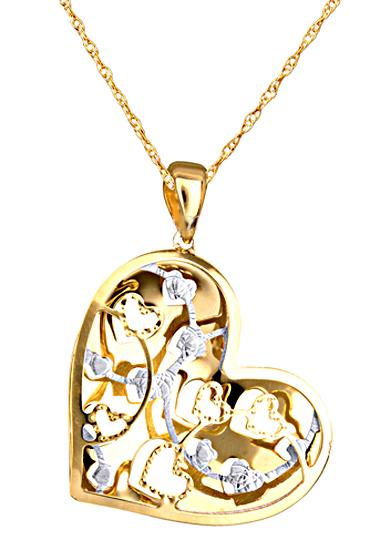 ΔΙΧΡΩΜΟ ΚΟΛΙΕ 14Κ 014879c Χρυσός 14 Καράτια