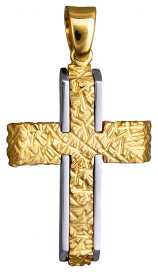 Σταυροί Βάπτισης - Αρραβώνα ΑΝΑΓΛΥΦΟΣ ΑΝΤΡΙΚΟΣ ΣΤΑΥΡΟΣ 9Κ 015127 015127 Ανδρικό Χρυσός 9 Καράτια