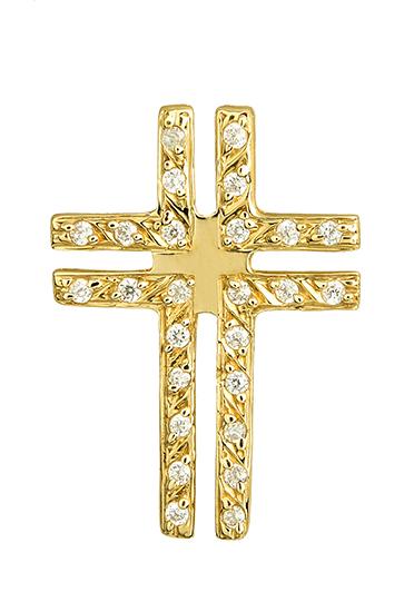 ΓΥΝΑΙΚΕΙΟΣ ΣΤΑΥΡΟΣ 015191 015191 Χρυσός 14 Καράτια χρυσά κοσμήματα σταυροί