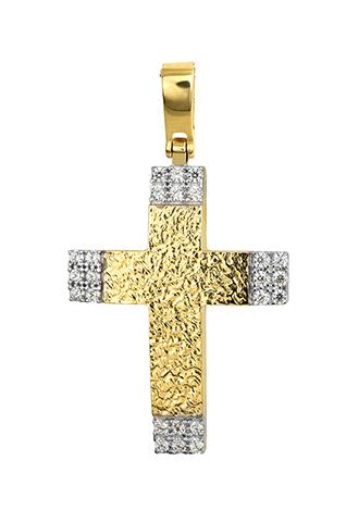Σταυροί Βάπτισης - Αρραβώνα Χρυσός Σταυρός 015265 Γυναικείο Χρυσός 14 Καράτια