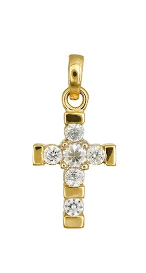 Χρυσός σταυρός 015472 015472 Χρυσός 14 Καράτια χρυσά κοσμήματα σταυροί