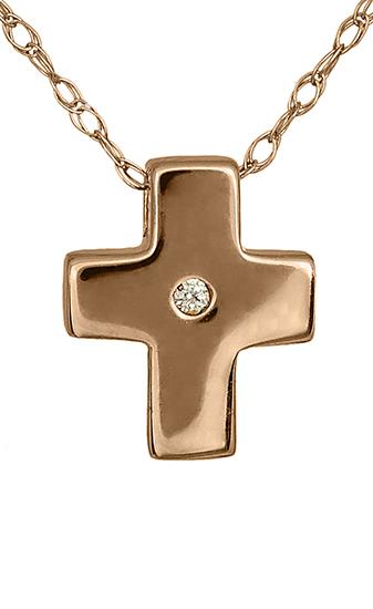 Γυναικείοι Σταυροί c015479 015479c Χρυσός 14 Καράτια