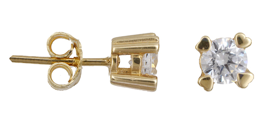 Χρυσά σκουλαρίκια Κ14 015483 015483 Χρυσός 14 Καράτια