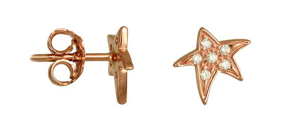 ΣΚΟΥΛΑΡΙΚΙΑ ONLINE 015490 015490 Χρυσός 14 Καράτια χρυσά κοσμήματα σκουλαρίκια καρφωτά