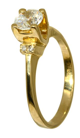 ΔΑΧΤΥΛΙΔΙ ΜΟΝΟΠΕΤΡΟ ΧΡΥΣΟ 015806 Χρυσός 14 Καράτια