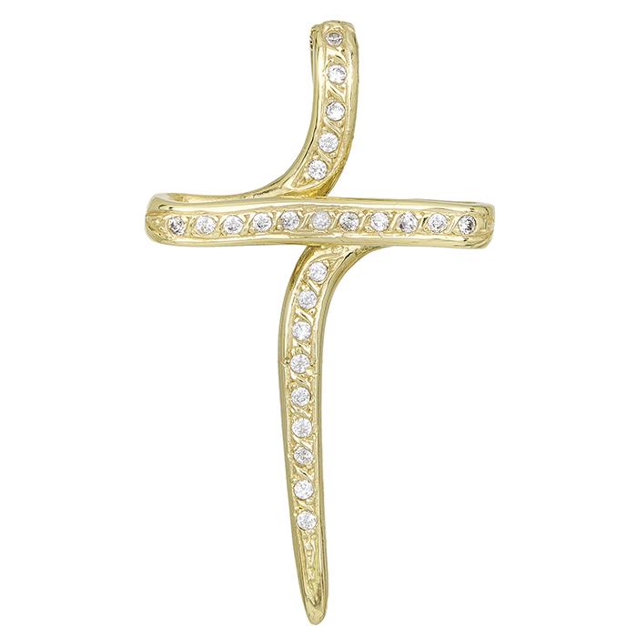 Σταυροί Βάπτισης - Αρραβώνα ΧΡΥΣΑ ΒΑΠΤΙΣΤΙΚΑ ΓΙΑ ΚΟΡΙΤΣΙ 015817 Γυναικείο Χρυσός 14 Καράτια